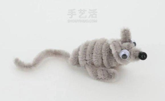 扭扭棒手工制作小动物的做法教程大全 -  www.shouyihuo.com