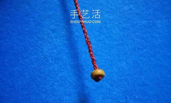 中国结手链编法图解教程 -  www.shouyihuo.com