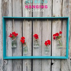 调料瓶做花瓶,DIY好看悬挂花瓶壁挂的教程
