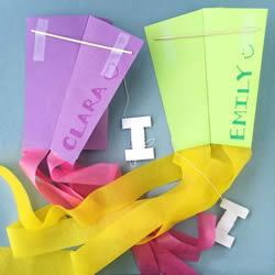 最简单风筝的制作材料和方法