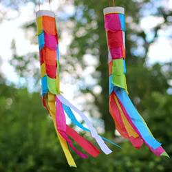 薄纸风向袋的制作教案