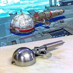日常家用物品重构!壮观的太空飞船图纸设计