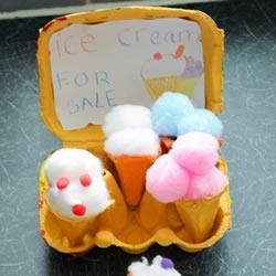 幼儿园手工制作冰激凌筒教程教案