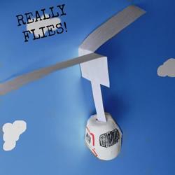 幼儿园直升飞机手工制作方法