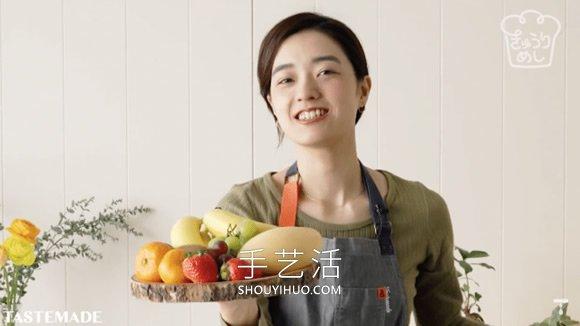 �W�如何在家制作�@些漂亮的花�K果三明治 -  www.shouyihuo.com