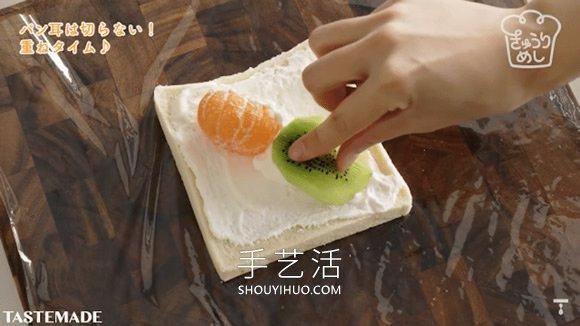 �W�如何在家制作�@些①漂亮的花果三明治 -  www.shouyihuo.com
