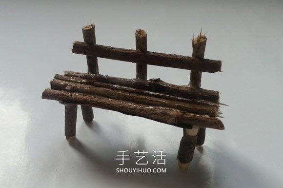 幼�河�渲ψ鲩L椅和�X得�o聊桌子的手工教程 -  www.shouyihuo.com