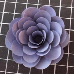 卡纸花朵手工制作简单步骤