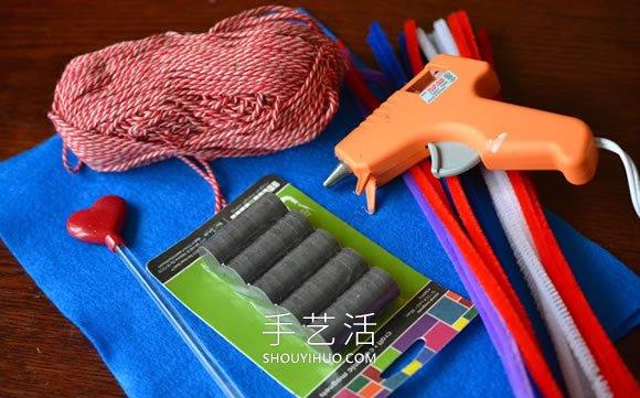 自制扭扭棒钓鱼玩具的做法教程 -  www.shouyihuo.com