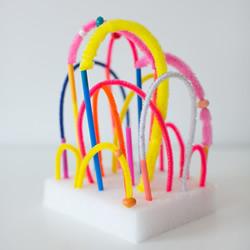 吸管和扭扭棒可以做的手工益智玩具