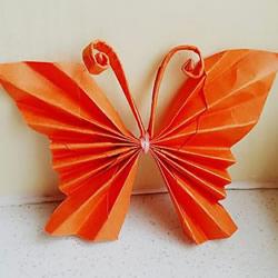 蝴蝶的折法手工简单又漂亮
