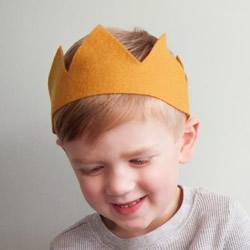 超简单布皇冠帽子的做法教程