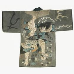 挺�^祝融之�模�19世�o日本消防衣上的��g�L��