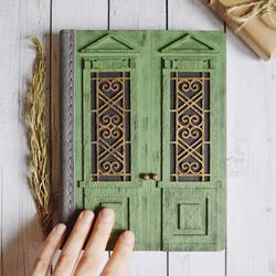 这些手工日记本将您的秘密隐藏在封闭的门后