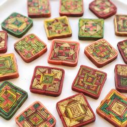马来西亚传统手工千层糕点!宛如绝美万花筒