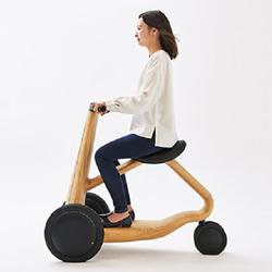 这不是儿童学步车!实木三轮电动车ILY-Ai