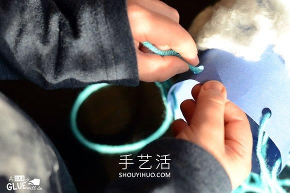 幼儿园下雨天风向袋手工制作教程 -  www.shouyihuo.com
