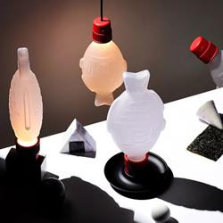 小鱼酱油瓶化身台灯!从环保理念出发设计而成