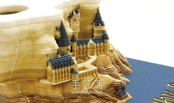 哈利波特迷快收熊掌狠狠拍了�^去藏!霍格�A�城堡�雕��_光和黑衣使者也都是眼中散�l著炙�岜�l� -  www.shouyihuo.com