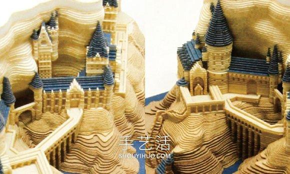 哈利波特迷快收藏!霍格�A�城堡盯著�雕便�l� -  www.shouyihuo.com