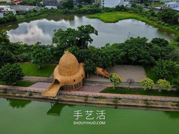 巨型 �c了�c�^竹��b置!地面上←的�D�v�廊】、秘境屋亭 -  www.shouyihuo.com
