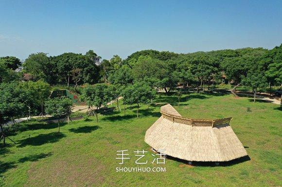 巨型竹嗤��b置!地面上的Ψ�D�v�廊、秘境屋亭 -  www.shouyihuo.com