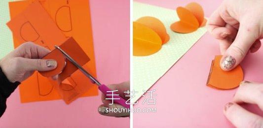 幼��@秋天卡��菁�手工制作南瓜 -  www.shouyihuo.com