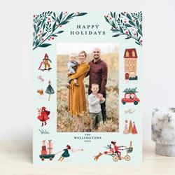 15张独特的精美节日卡片设计图片