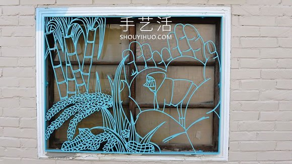 铁花窗图案设计DIY,重现台湾最美丽铁花窗风情 -  www.shouyihuo.com