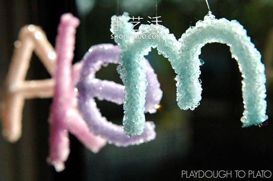 ��涡���:硼砂水晶字母名字的全文字�o�e首�l小�f 制作方法�[ -  www.shouyihuo.com