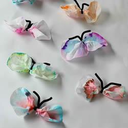色谱小实验:手工蝴蝶的做法教程