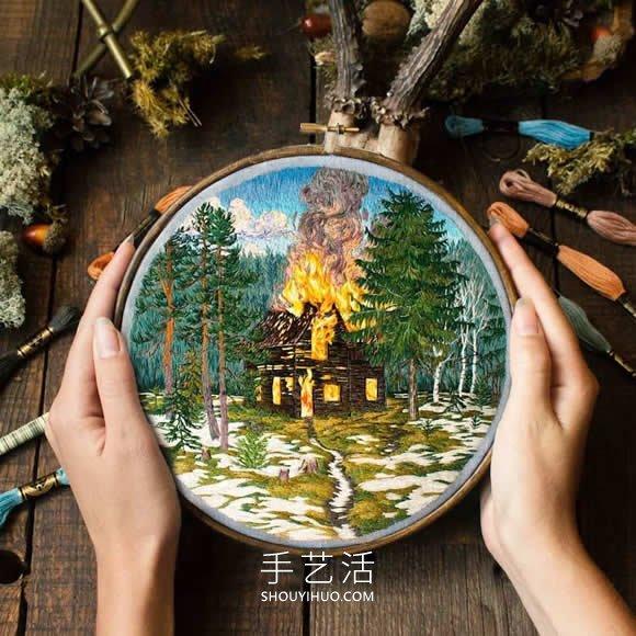 """刺�C��g『家用��""""��""""出富有表�Z�F力的�L景 -  www.shouyihuo.com"""