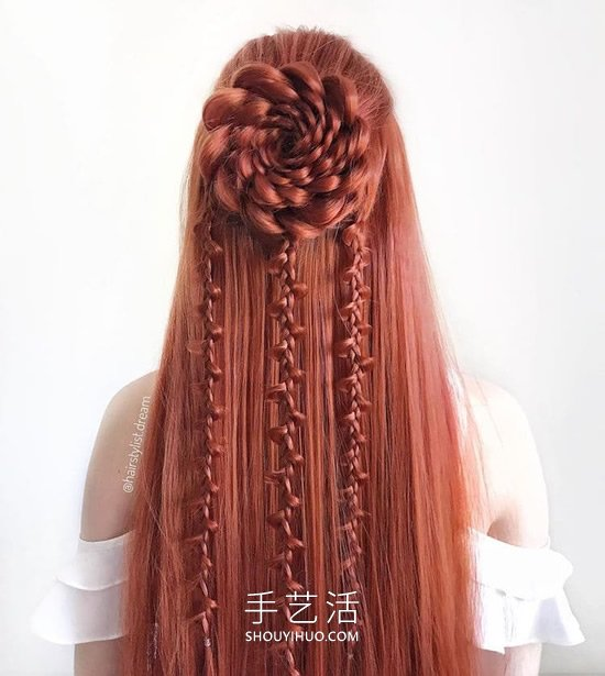 德��少女DIY�@人的�l型,就像�碗s的�^��D案 -  www.shouyihuo.com