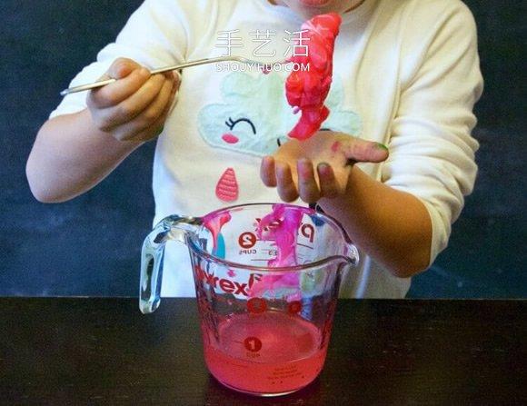 科学小实验自制弹力球的做法和原理 -  www.shouyihuo.com