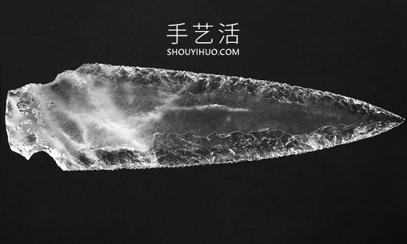 西班牙发现有5000年历史的手工打造水晶匕首 -  www.shouyihuo.com
