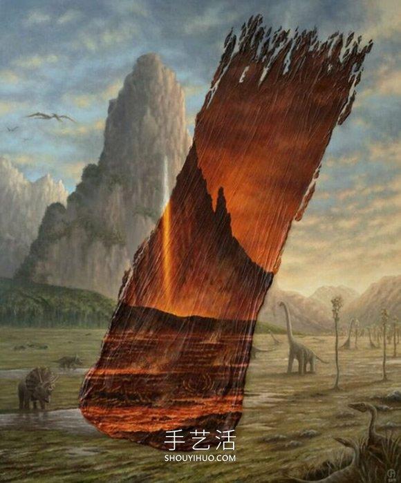 超现实异世界!艺术家笔下的神奇时光隧道- www..com